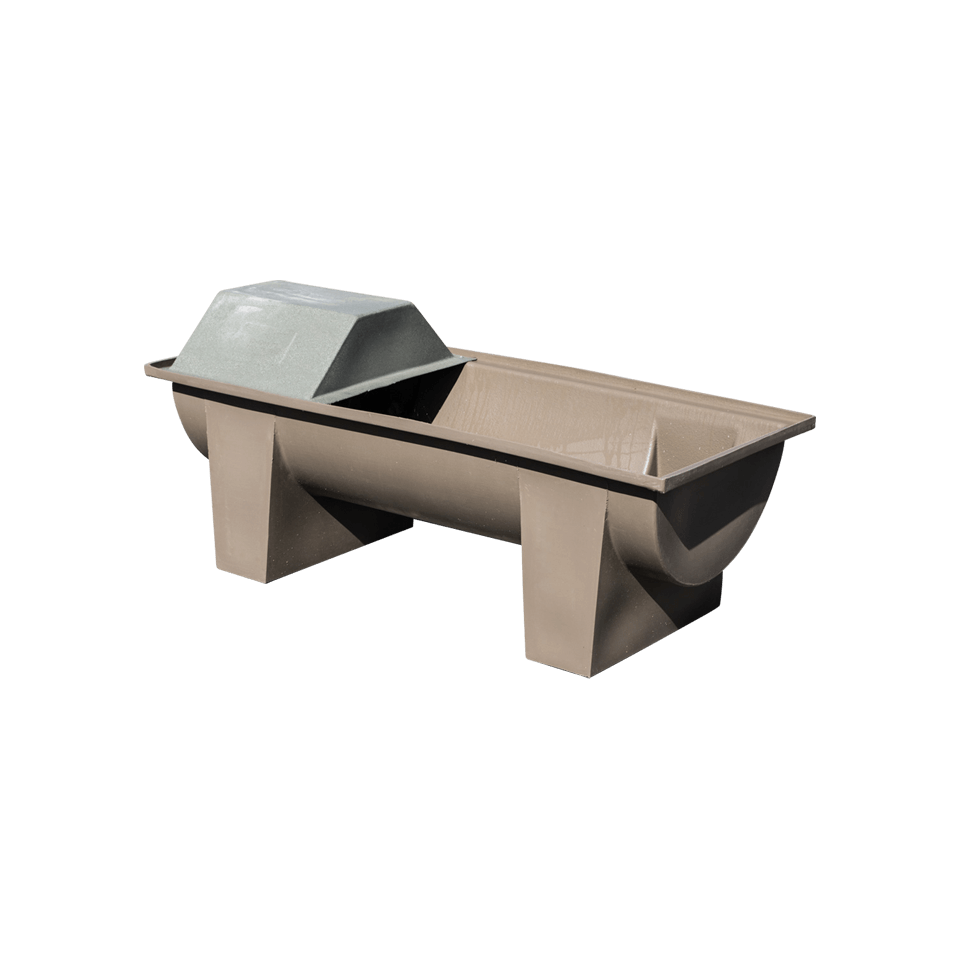 Stock Trough 1.270 - with cover and float - Water Tanks Hobart - Pinecrest Products